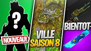 LEAK CITY of SAISON 8, a SKIN NINJA DRAGON - PROCHAINE ARME on FORTNITE! (Fortnite News)