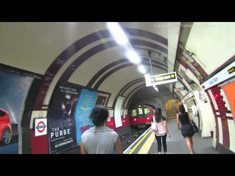 Walk Around Chalk Farm Tube Station