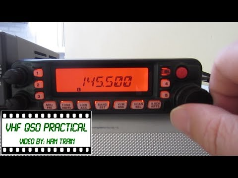 Amateur Radio VHF QSO Practical