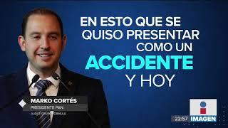 Fue provocado el accidente donde murió la gobernadora de Puebla: Marko Cortés | Noticias con Ciro