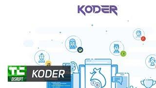 Koder Coding Marketplace   Disrupt SF 2017