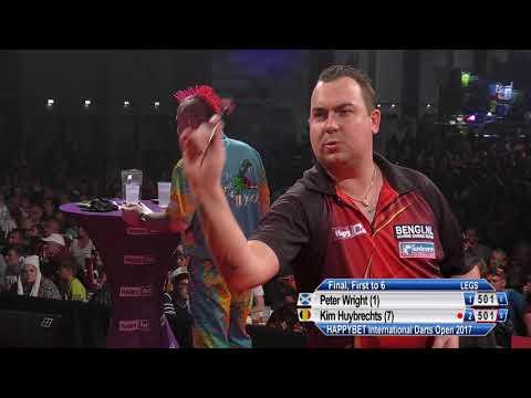 HappyBet International Darts Open Final - Peter Wright v Kim Huybrechts