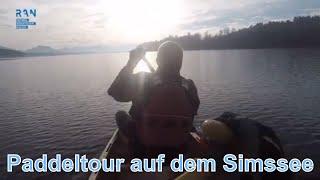 Paddeln auf dem Simssee - Canadier Paddeltour - Chiemsee - R.A.N.