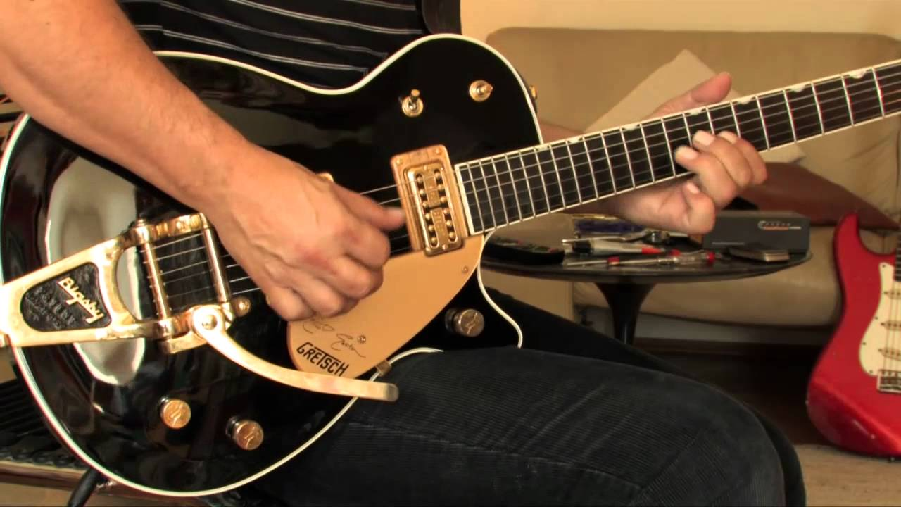Cadillac Of Easton >> 2003 Gretsch Duo Jet Elliot Easton Signature (black) - YouTube