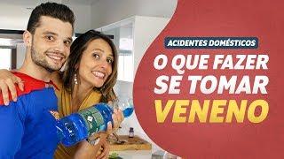 O que fazer se TOMAR VENENO I Acidentes Domésticos #02