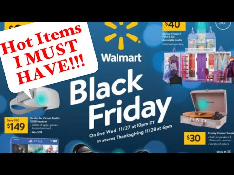 Walmart BLACK FRIDAY AD 2019 | My TOP ITEMS I'm Buying!!!