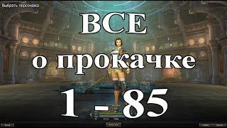 🚼 ВСЁ О ПРОКАЧКЕ 1-85 LVL Lineage 2 Salvation 🚼