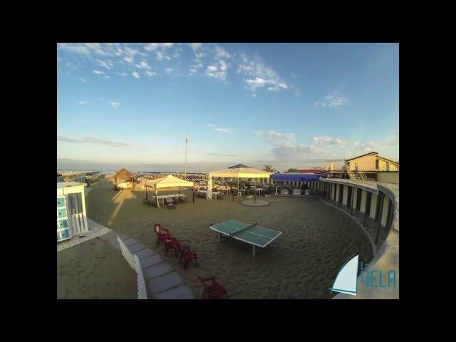 LaVela BeachClub Versilia - Timelapse di una giornata al mare