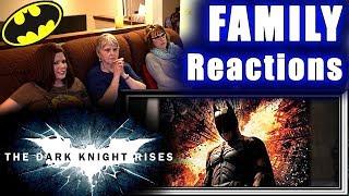 The Dark Knight Rises | FAMILY Reactions | Fair Use