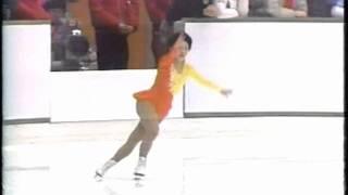 世界ジュニアフィギュアスケート1984 伊藤みどり Midori Ito.wmv