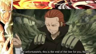 Natsu vs Gildarts English Sub
