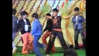 Dance by School Students||Yamaho Yama Song||Chirutha||2007||Kavali.