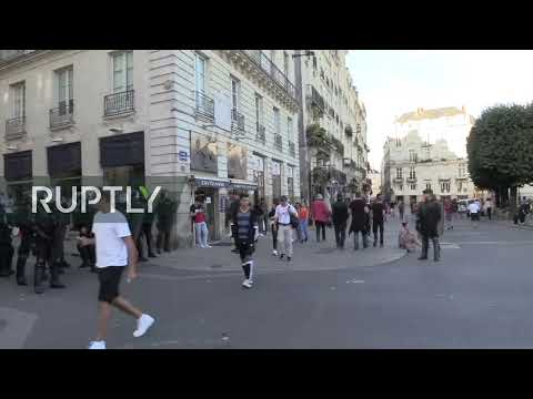 : Yellow Vests take to streets of Nantes for new protest