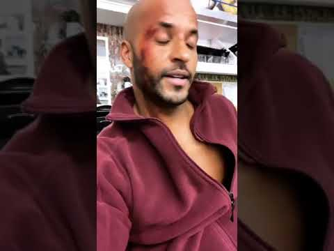 Ricky Whittle Live on Instagram — October 12th, 2018