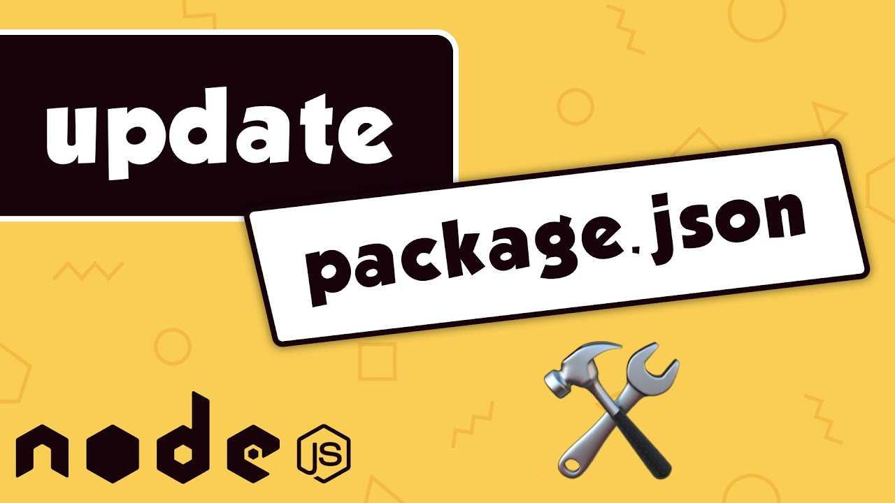 How to Update Packages Inside a NodeJs Project