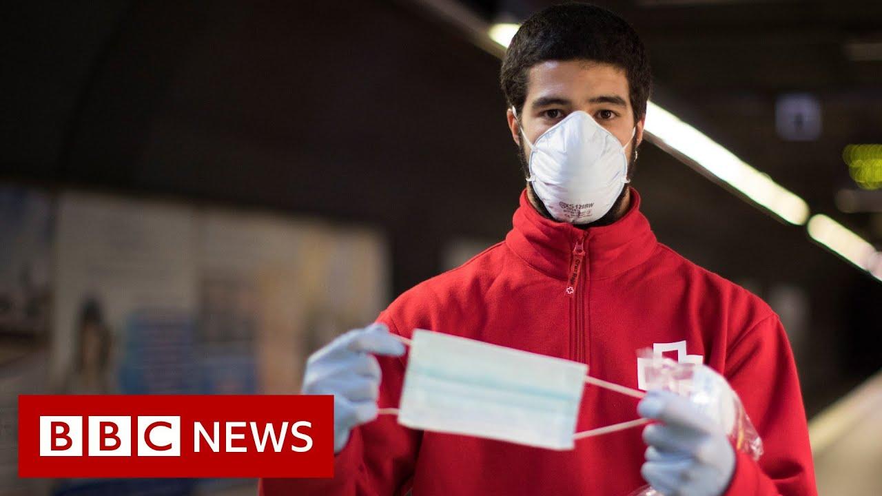 Coronavirus: Can wearing masks stop the spread of viruses? - BBC News