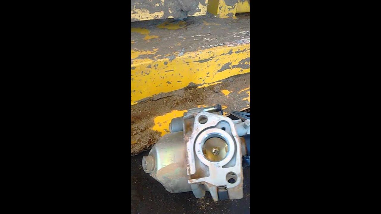 Limpeza de carburador a gasolina parte 2