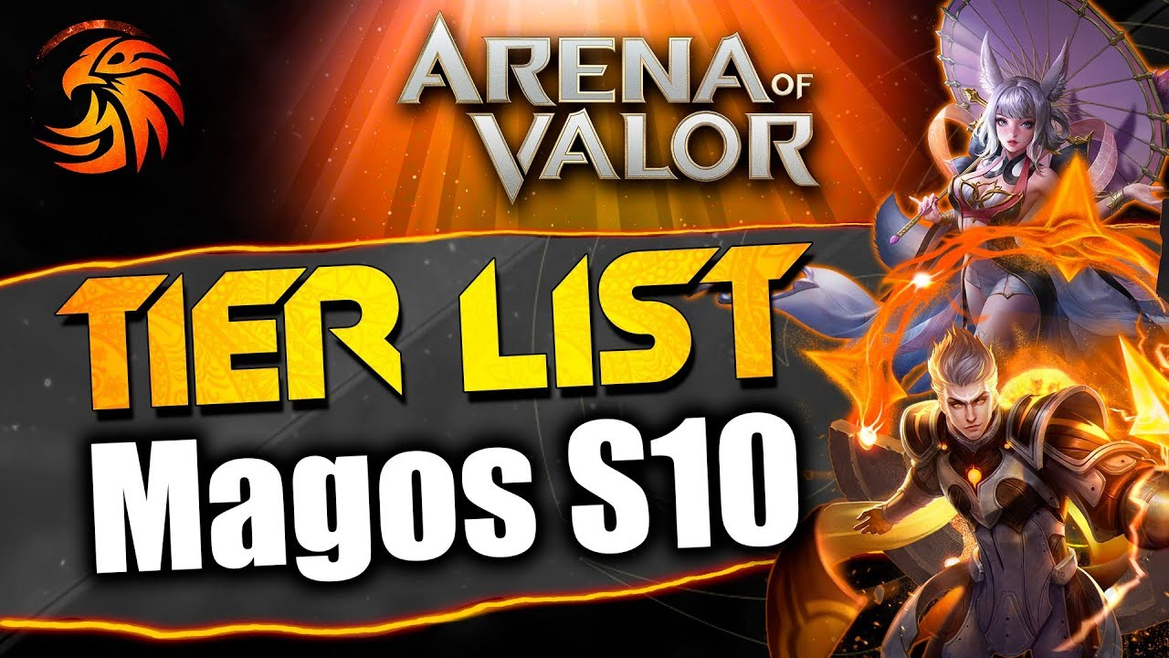 AoV Tier List y Win Rate MAGOS MID | Arena Of Valor | DayMelto Gameplay  Español