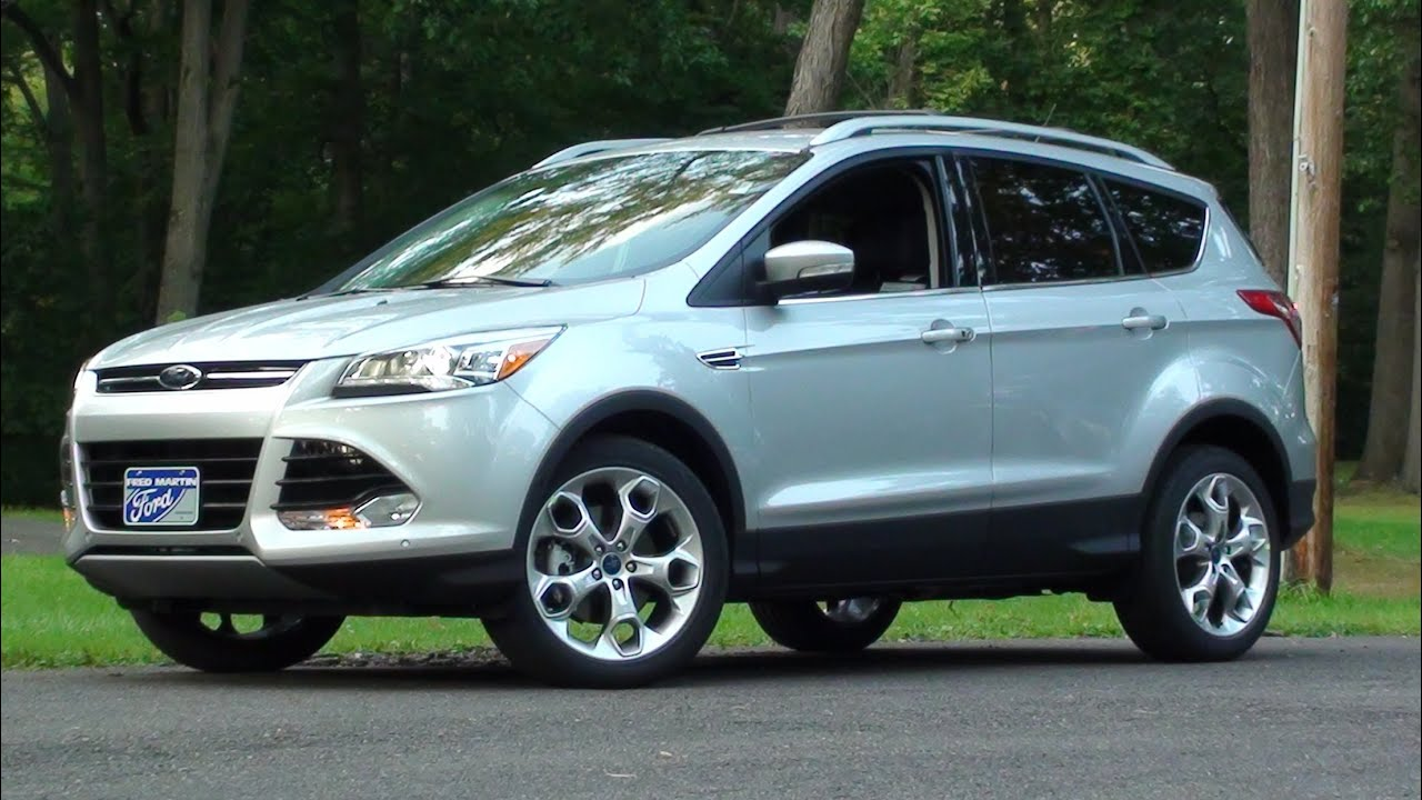 Mvs 2014 Ford Escape Titanium Road Test Youtube