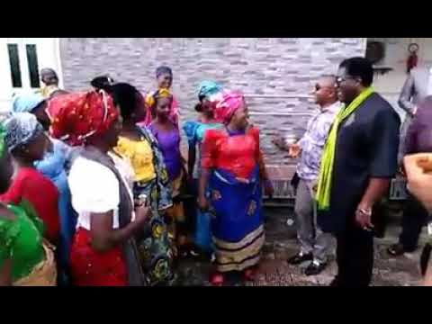 SEE WHAT HAPPENED THE DAY IMO DEPUTY GOVERNOR. PRINCE EZEAKONOBI MADUMERE PAID A CONDOLENCES VISIT N