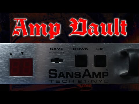 Preamp Vault – Tech 21 SansAmp PSA-1 review (yes, I go through all the presets as well!)