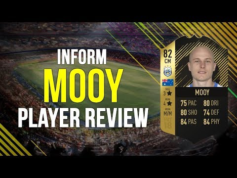 FIFA 18 - INFORM MOOY (82) PLAYER REVIEW