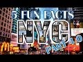 """""""New York City"""" 5 Fun Facts: NYC part 4 of 4"""