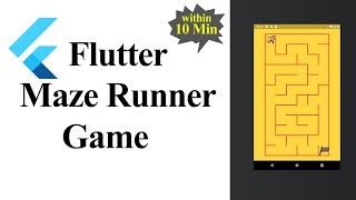 Maze Runner Game using Flutter (Hindi)