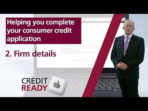 2. Firm Details - FCA Consumer Credit Guides