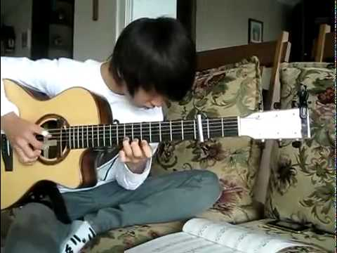 Sungha Jung's practicing !