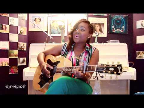 I Am Beautiful  Candice Glover cover by Jamie Grace feat. Group 1 Crew's Beautiful