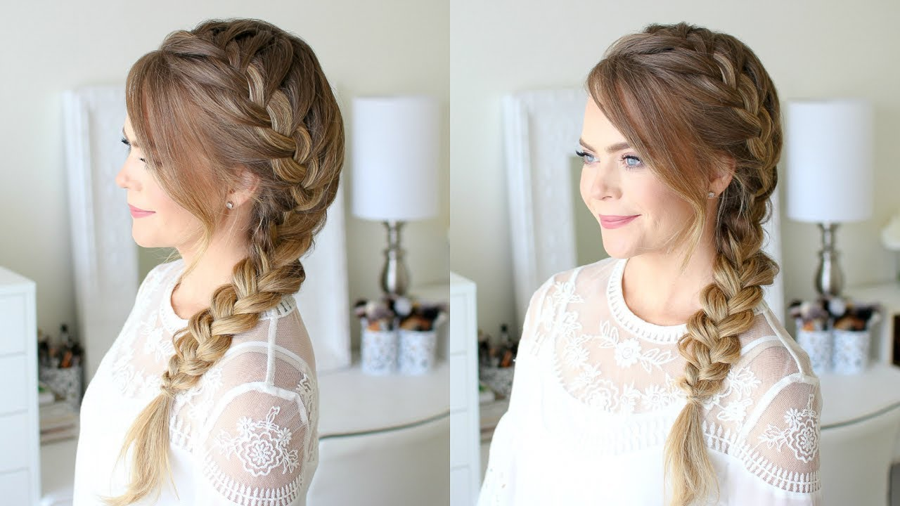 How to Do a Side French Braid on ShortHair