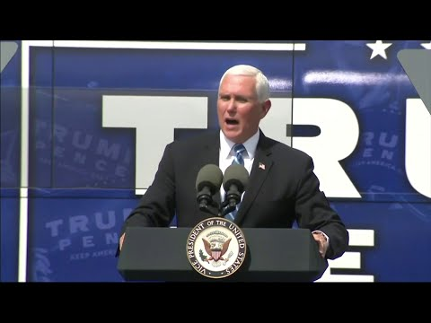 Pence tells South Floridians that Trump needs