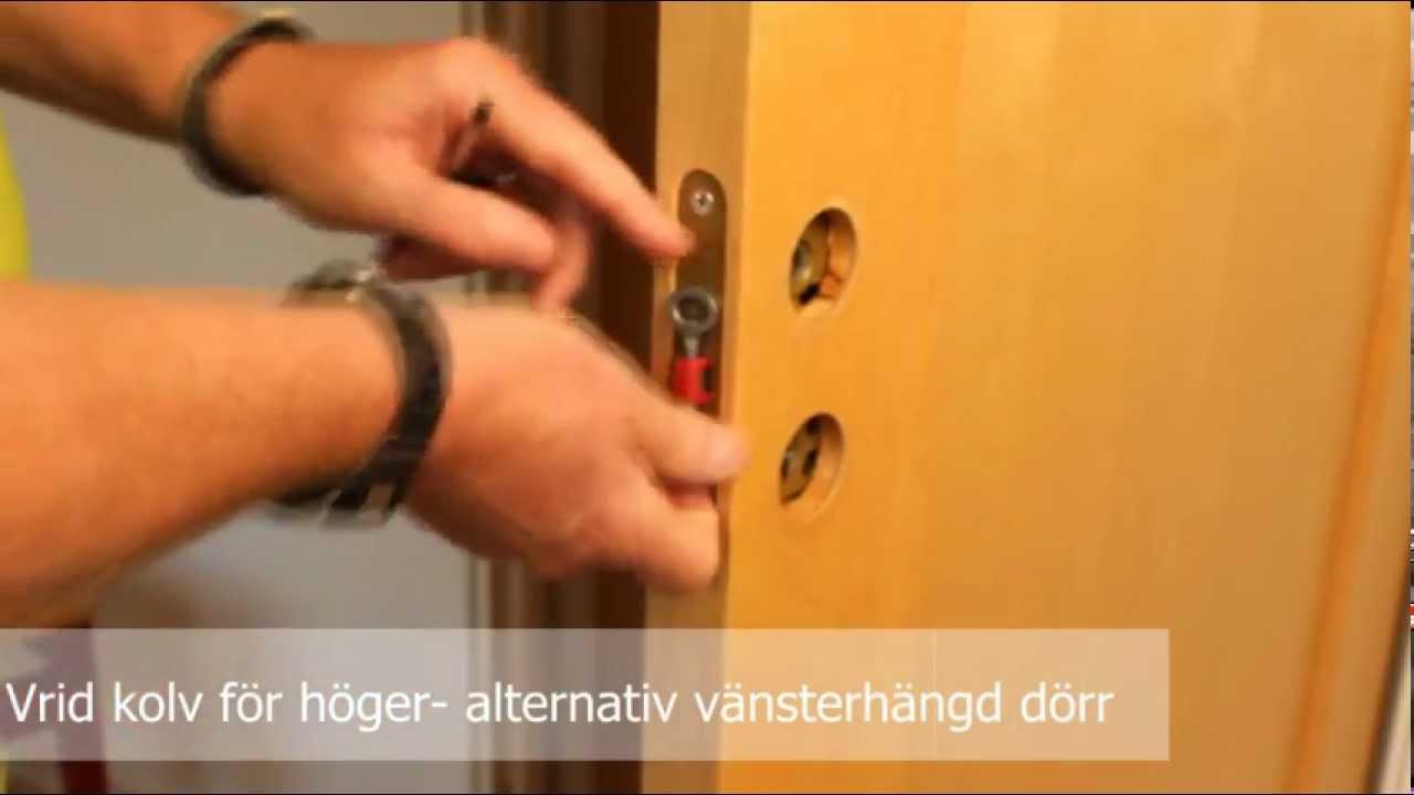 Montering av låshus, Habo Gruppen (SE) - YouTube