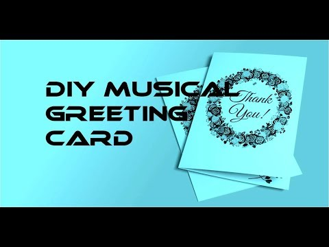 || DIY Musical Greeting Card || UM66 Musical IC ||