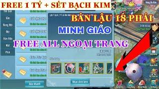 Vltk Mobile Lậu 18 Phái Minh Giáo - Free Sét Bạch Kim + 1 Tỷ Và Tất Cả Ngoại Trang Mới Nhất