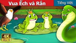 Vua Ếch và Rắn   King Frog and Snake Story in Vietnamese   Truyện cổ tích việt nam