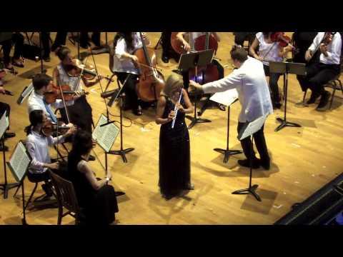 W.A. Mozart Concerto No. 1 for flute and orchestra in G, K.313 1. Allegro maestoso
