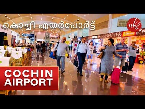 Cochin International Airport Terminal - 3, Kerala, India | Travel from Cochin to Colombo, Srilanka