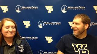 William Penn Athletics Sofie Lund Interview 9-28-18