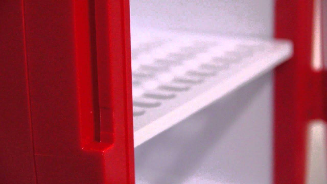 Mini Kühlschrank Wohnzimmer : Mini kühlschrank liter rot youtube