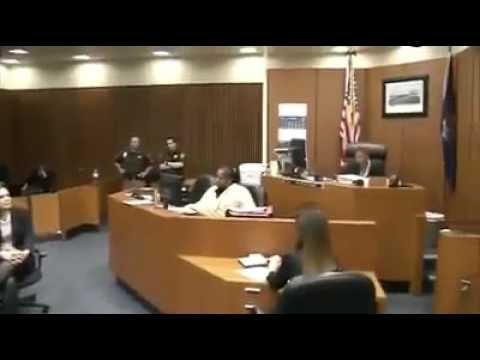 Black Judge goes off on racist, bully cop, for beating a man in a traffic stop!!