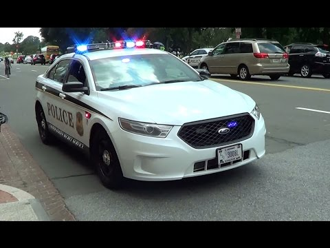 United States Secret Service Police cruiser at a traffic stop [Washington D.C. | 7/18/2013]