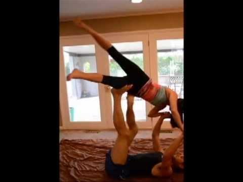 Partner Acro Yoga in Tulsa