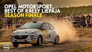 Opel Motorsport Worldwide   Best Of Latvia Rally Liepāja 2018