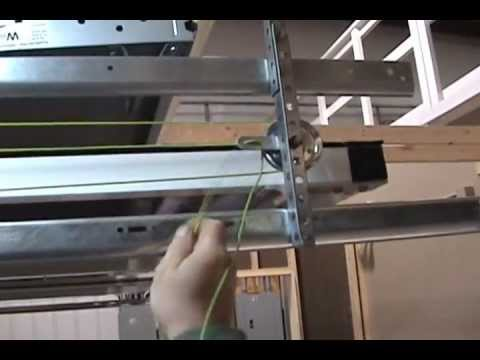 Lifestyle Screens: Spring Counterbalance System Cable Routing
