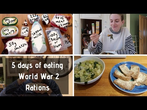 5 Days Of Eating A WW2 Ration Diet...and Here's What Happened...