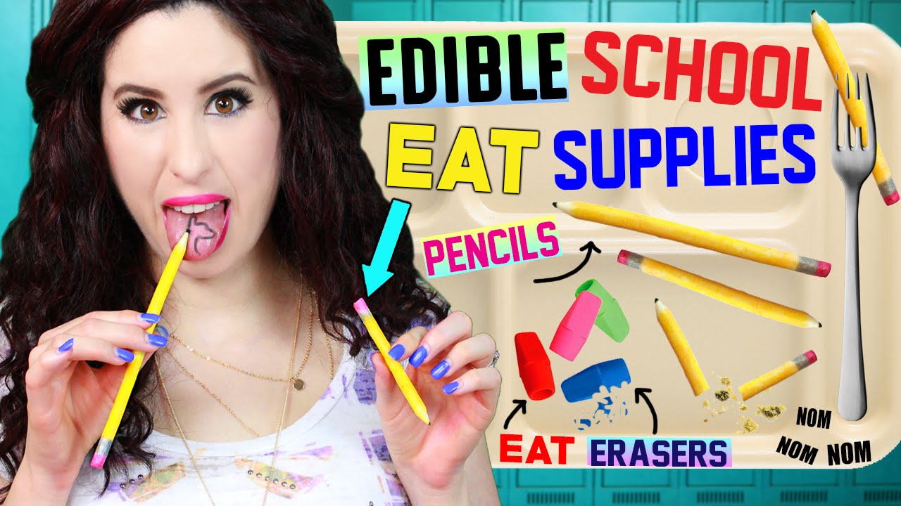 How To Make An Edible Eraser For Kids