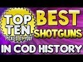 """BEST SHOTGUNS"" In Cod History (Top Ten - Top 10) ""Call of Duty Ghosts Gameplay"" 