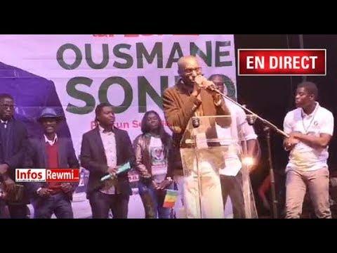 SUIVEZ LE MEETING DE OUSMANE SONKO EN DIRECT DEPUIS LA FRANCE